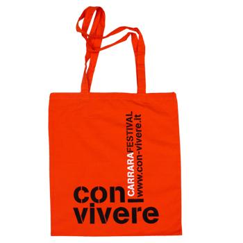 Shopper con-vivere Carrara festival