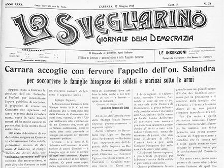 Cronache dalla Grande Guerra - Underground Saffi