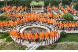 Magliette Arancioni - I volontari del festival
